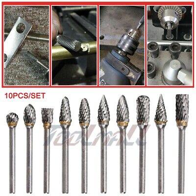 """20pc 1//8/"""" Double Cut Carbide Bur Set 1//8/"""" Shank burr"""