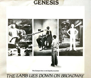 Genesis-2xCD-The-Lamb-Lies-Down-On-Broadway-UK-VG-EX