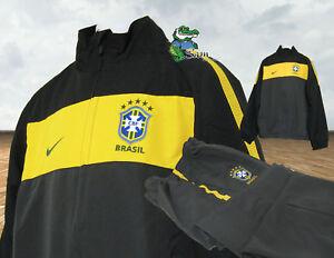 NIKE-Boys-Girls-BRAZIL-BRASIL-Football-Complete-Tracksuit-XL-Age-13-15-Years