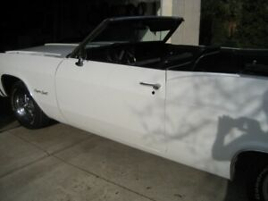 1966 Chevrolet Impala Supersport Convertible.Total re-build