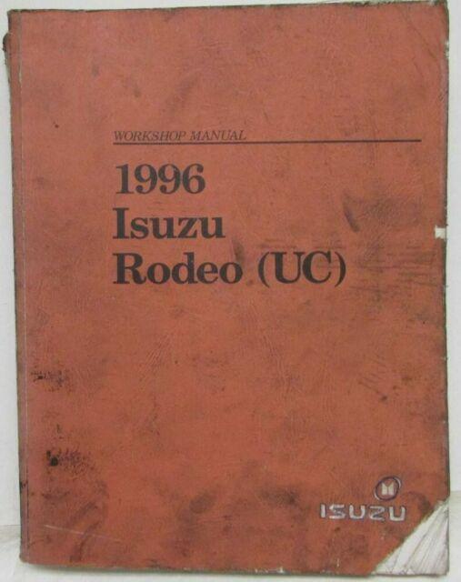 1996 Isuzu Rodeo Service Shop Repair Manual