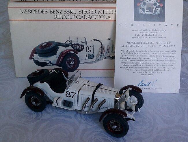 Minichamps 1 24 Mercedes-Benz SSKL 1931 Sieger Mille Miglia Rudolf Caracciola