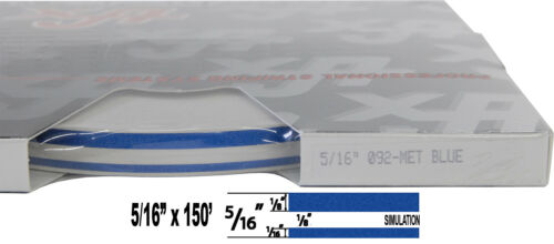 """5//16/"""" x 150/' Roll of Accent Pinstripe for cars trucks,RV stripe many colors"""