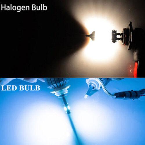 For Nissan Maxima 2009-2015 ICE Blue 8000K 144W COB LED Headlight Hi//Low Beam 4X