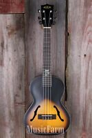 Kala Ka Jte 2ts Tenor Archtop Acoustic Electric Ukulele Uke W Eq 2 Tone Sunburst on sale