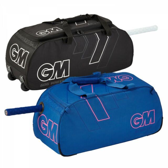 2019 Gunn /& Moore 606 Cricket Wheelie Bag Size 72cm x 27cm x 28cm