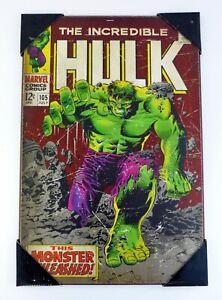 Incredibile-Hulk-Incorniciato-Muro-Arte-MDF-Tavola-48-3cm-x-30-5cm-il-Monster