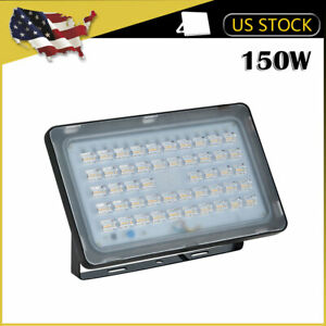 5x 150W LED Flood Light Warm White VIUGREUM Outdoor Spotlight Garden Yard Lamp