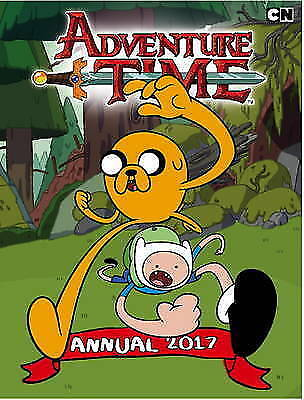 1 of 1 - (Good)-Adventure Time Annual 2017 (Hardcover)-Braden Lamb, JJ Harrison, Paul Pop