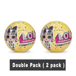 L O L Surprise Confetti Pop Series 3 Wave 2 Double Pack 2 Pcs