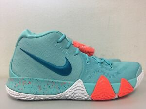 best cheap a9416 40898 Details about Nike Kyrie 4 Power is Female Light Aqua Neo Turquoise 943806  402 Mens Size 12