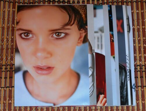 Millie Bobby Brown Stranger Things 4x6 Photo Set Top 10 Photos HQ  # 5