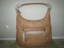 04edd7fdab Frye Leather Beige Melissa Zip Top Hobo Bag Db0156 for sale online ...