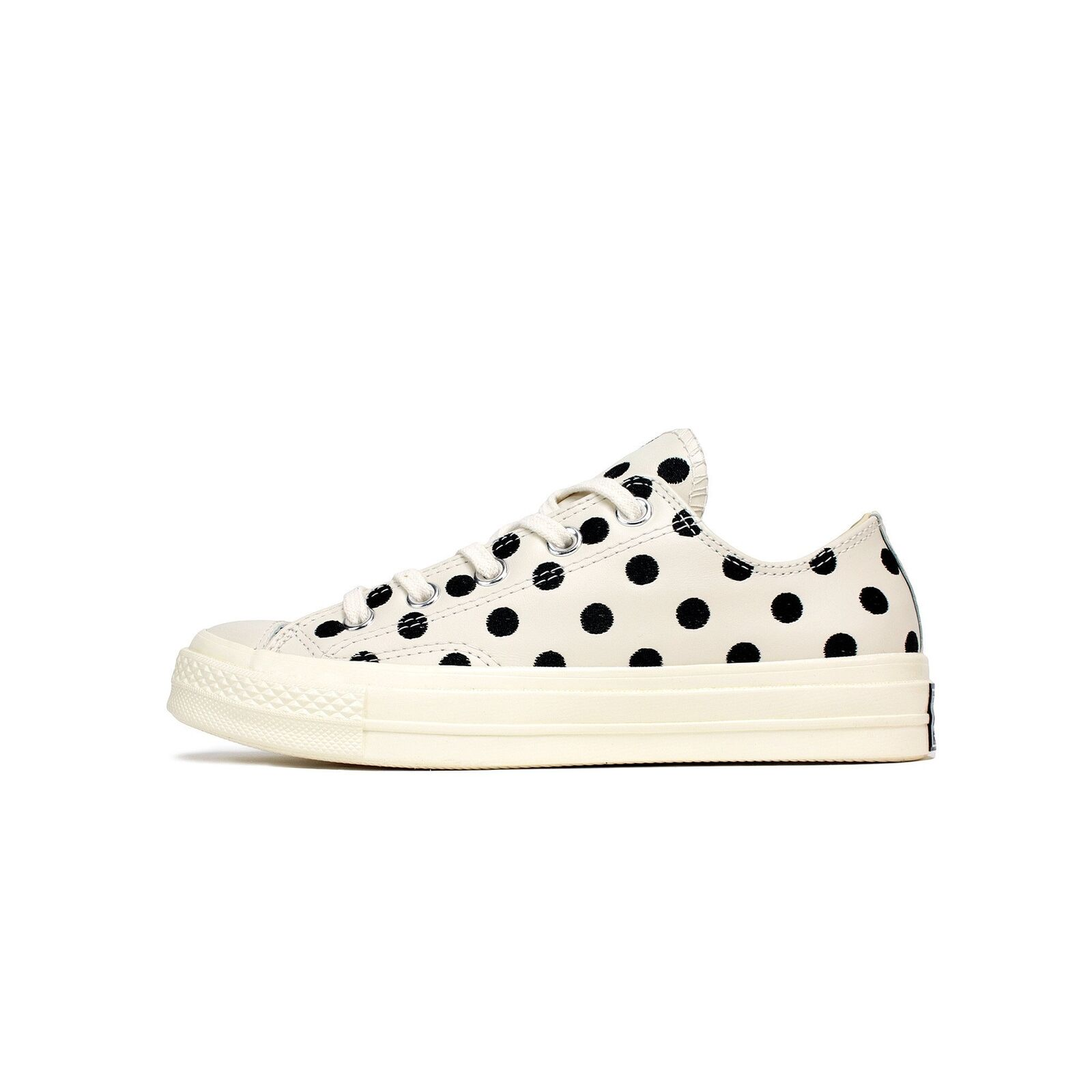 Men's Converse Chuck Taylor All Star 70s Ox Polka Dot Parchment Black 155460C