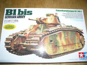 Tamiya-1-35-B1-bis-Tanks-German-Army-Ver-Model-Tank-Kit-35287