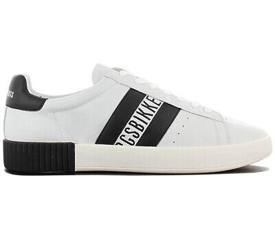 Ehrlichkeit Bikkembergs Cosmos 2434 Herren Sneaker Bke109348 Grau Leder Schuhe Freizeit Neu