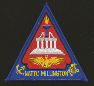 NATTC-MILLINGTON-US-NAVY-PATCH-USS-MARINES-Naval-Air-Technical-Training-Center