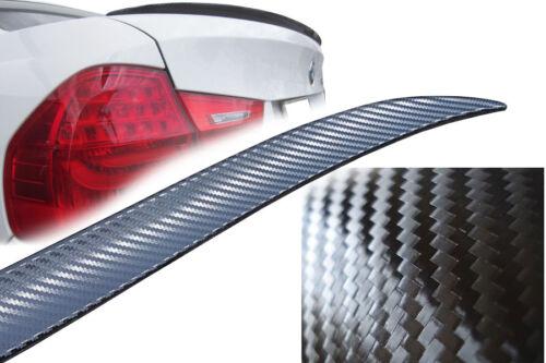 Per BMW e90 325i 320 318 330 323 335 m3 pellicola carbonio spoiler baule ala L