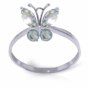 Genuine-Aquamarine-Gemstones-Butterfly-Ring-In-14K-Yellow-or-White-or-Rose-Gold