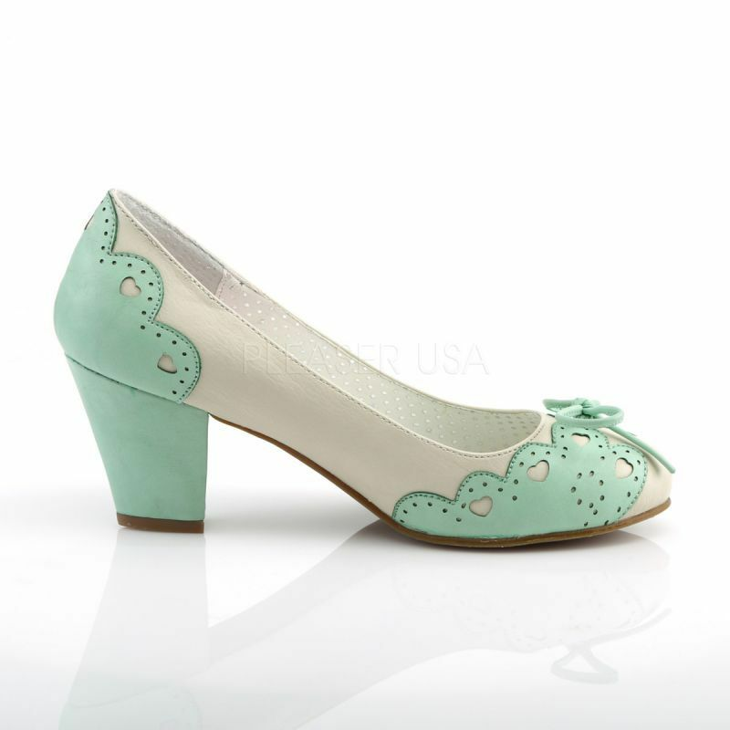 Pin Up Couture Couture Pumps WIGGLE-17 Gr¸n Pin Up Couture Up Pumps WIGGLE-17 Grün 7c602c