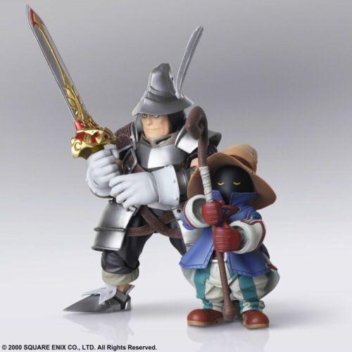 Final Fantasy IX vivi Ornitier Adelbert Steiner apporte Arts 2-Pack Action Figures