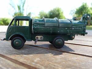 Superbe Et Rare ! 1952 Original Dinky Toys 25 V Ford Benne À Ordures Tbe