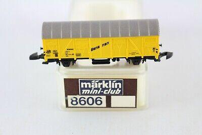 8606 Carrello Di Raffreddamento Banane Carrello Märklin Mini-club Ovp Traccia Z + + Top-mostra Il Titolo Originale