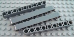 LEGO Lot of 4 Light Bluish Gray 1x9 Bent Thick Technic Mindstorms Liftarms