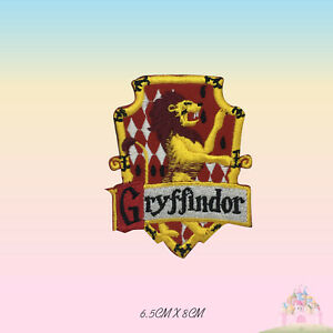 Harry Potter Gryffindor Embroidered Iron On Sew On Patch Badge For Shirts