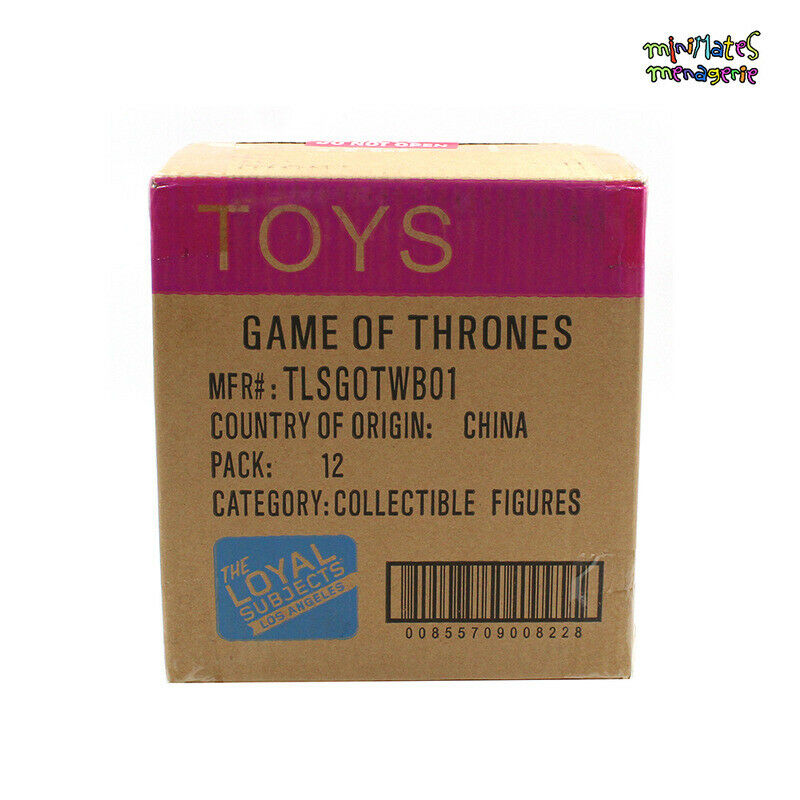 Loyal Subjects gioco of Thrones  Wave 1 Factory Case of 12 Vinyl cifras  solo per te