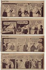 Little Orphan Annie by Harold Gray - 27 daily comic strips - Complete Jan. 1958