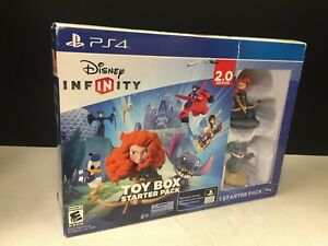 Disney-Infinity-Toy-Box-Starter-Pack-2-0-Edition-Playstation-4-OPEN-BOX-NEW
