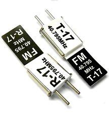 RC 40 MHZ 40.795 FM Crystal TX & RX Receiver 40MHZ Black