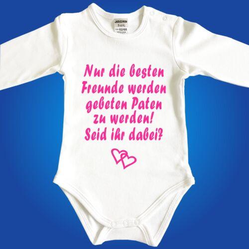 Babybody Baby-Body Paten Taufpaten Einzahl Taufe Tante Auswahl Mehrzahl
