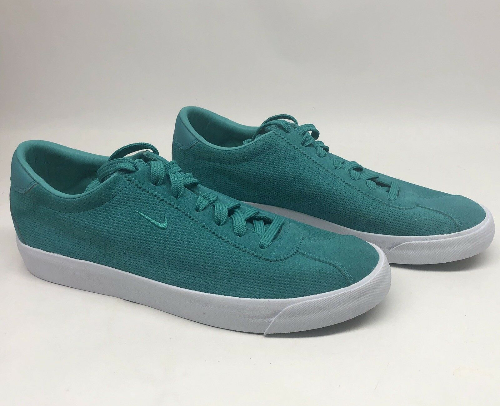 Nike Match Classic Suede Men's shoes Nikelab Clear Jade SIZE 10