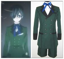 Black Butler kuroshitsuji Ciel Phantomhive Cosplay Costume Custom Made any size