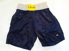 ADIDAS BOXING   Vtg  Shiny Wet Look Silky Nylon  Shorts 90s Festival S
