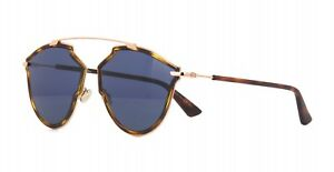 c4dcfdd360f Christian Dior SO REAL RISE dark havana blue (QUM KU) Sunglasses ...