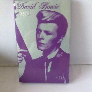 DAVID-BOWIE-SOUND-VISION-Ist-UK-2003-UK-EMI-4-CD-Box-set-RARE
