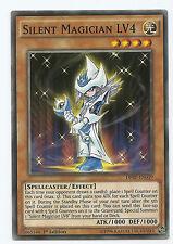 Silent Magician LV4 pagos periódicos de DP-EN019 Común Yu-Gi-Oh tarjeta 1st edición Inglés MINT NUEVO