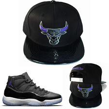 59fb01e824c6 item 5 Mitchell   Ness Chicago Bulls Snapback Hat Black Purple Air Jordan 11  Space Jam -Mitchell   Ness Chicago Bulls Snapback Hat Black Purple Air  Jordan ...