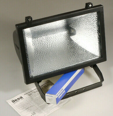 Prl) Proiettore Per Esterno Ilesa Halopak 1000 Lampada Alogena Halogen Lamp