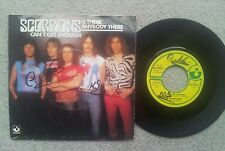 Scorpions CANT GET ENOUGH GERMAN 1979  7 INCH VINYL SINGLE RARE!