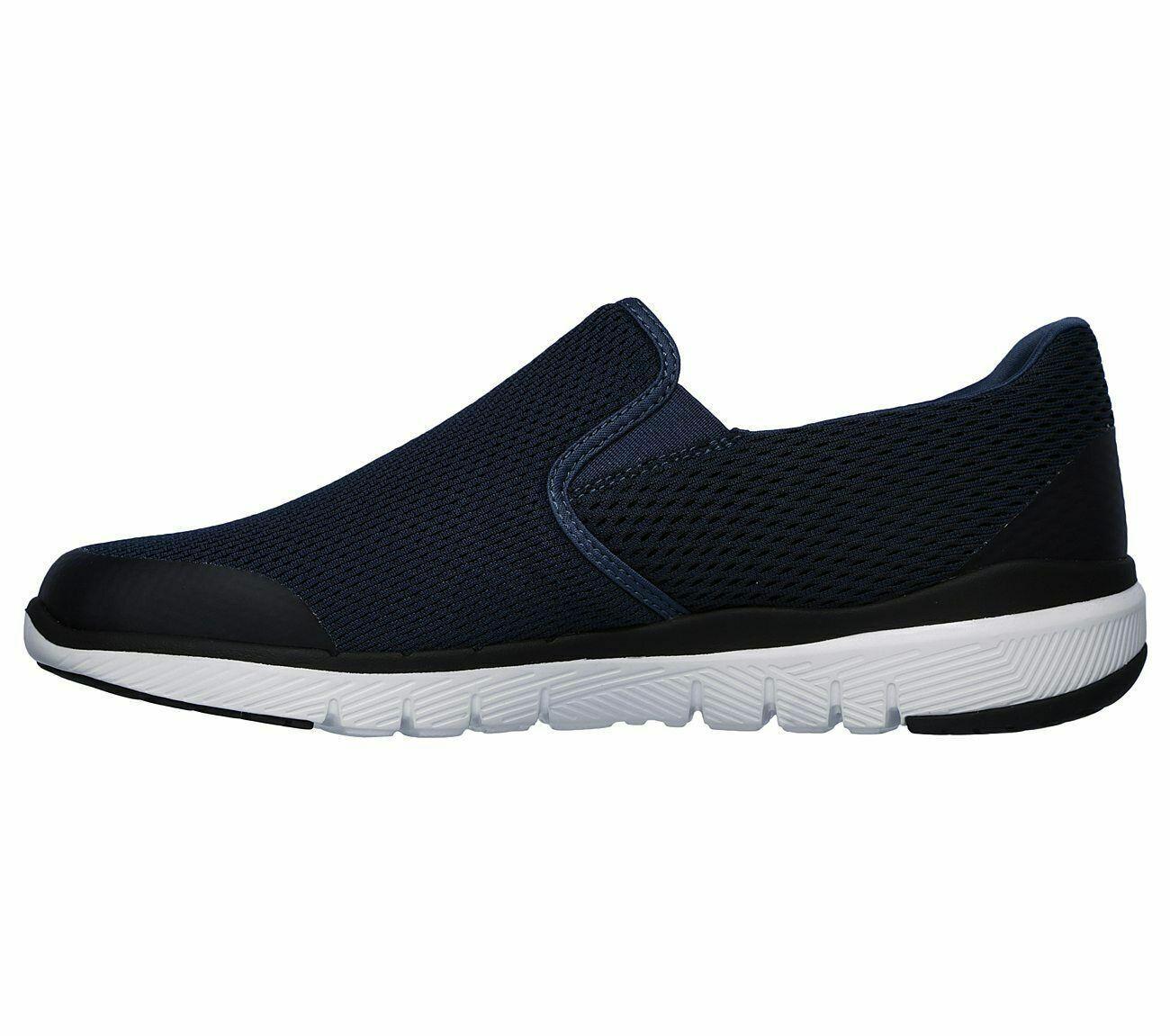 Black Slip On Shoes Skechers Men/'s Foam Casual Sport Soft Woven 52961 Air Cooled