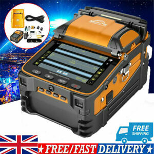 AI-8 FTTH Fiber Optic Welding Splicing Machine Optical Fiber Fusion Splicer New