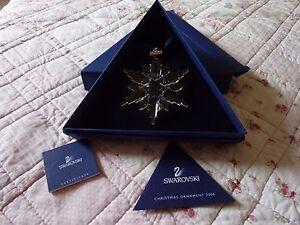 Swarovski christmas annual 2006 large star decoration bnib ebay