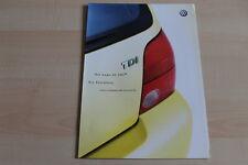 97838) VW Lupo 3L TDI - Preise & Extras - Prospekt 07/2002