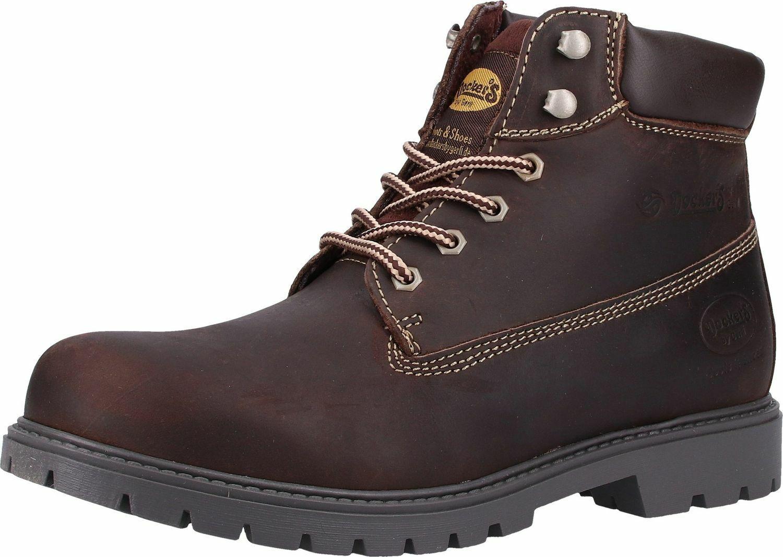 Dockers By Gerli 45PA140 Men's Combat Desert Boots Chocolate
