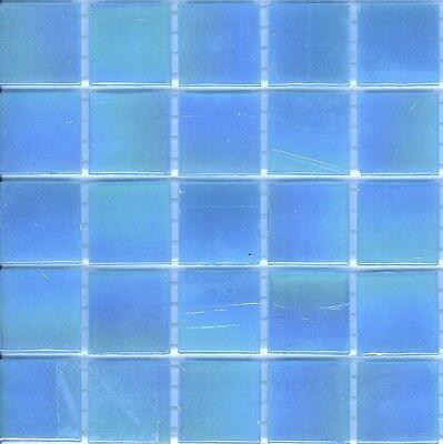 Gl 08 Blue Mosaic Tiles 20mm X