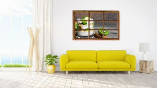 Kiwi Müsli Banane Küchen Wandtattoo Wandsticker Wandaufkleber H0602